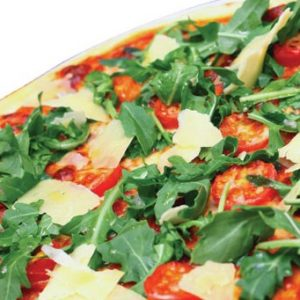 Tomato & Arugula Pizza