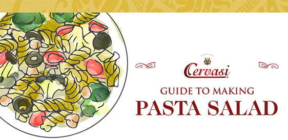 Making Pasta Salad is Easy with Cervasi's Mix and Match Guide