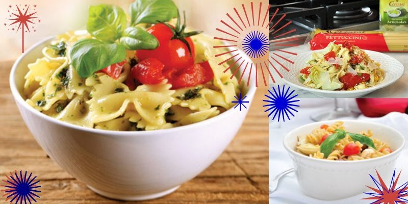 3 Summer Pasta Salad Ideas Perfect for Fourth of July, from Cervasi Pasta