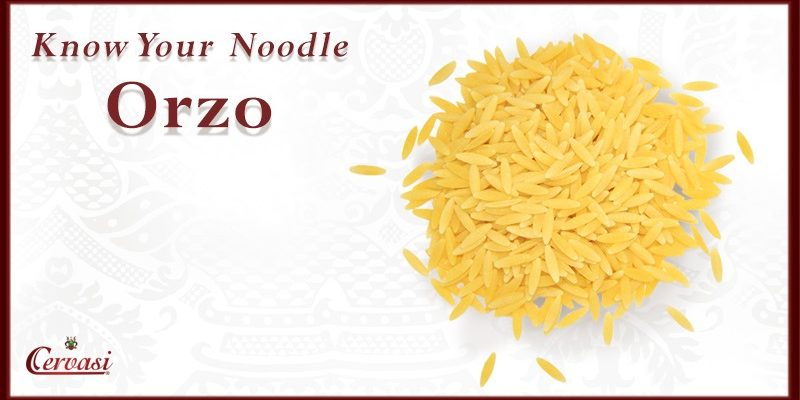 Orzo Pasta from Cervasi Pasta, a Kansas City importer of Italian foods
