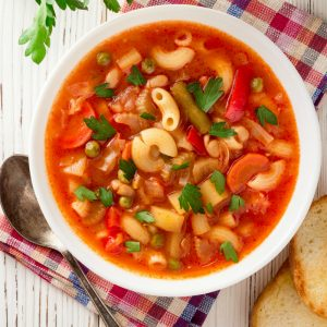 Cervasi classic minestrone soup