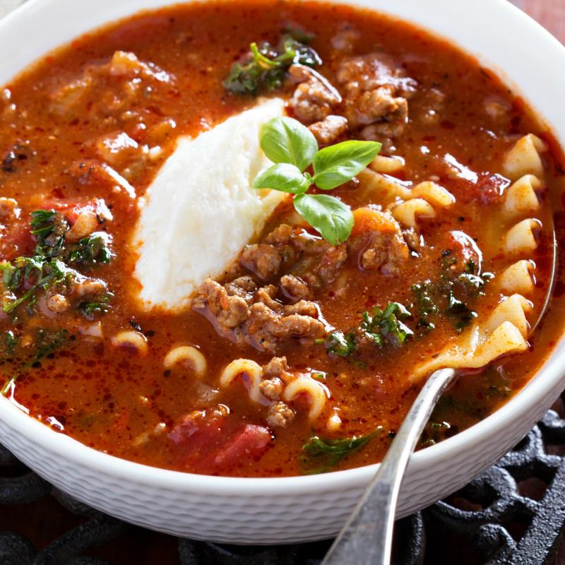 Cervasi's Slow Cooker Lasagna Soup