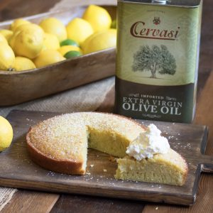 Olive Oil Cake by Lauren Lane
