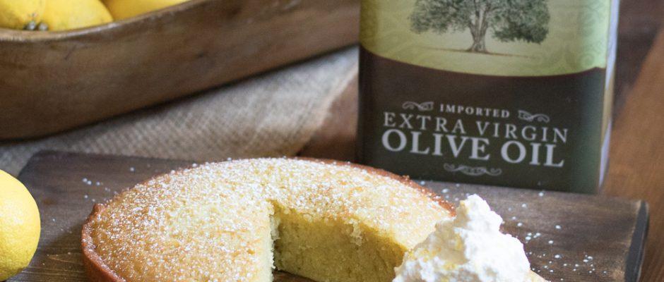 Olive Oil Cake by Lauren Lane
