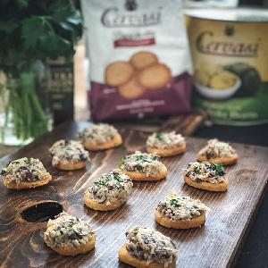 Artichoke Bruschetta recipe from Lauren Lane